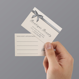 Appointment cards aberdeen printing select options reheart Image collections